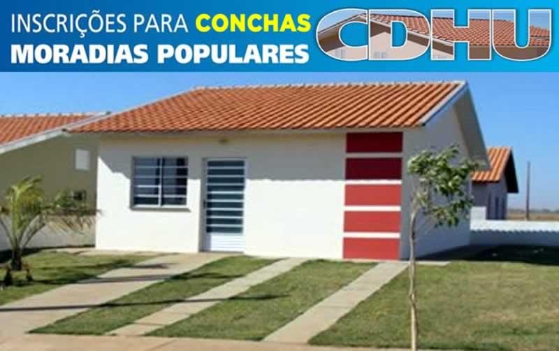Unidade de uma moradia popular da CDHU