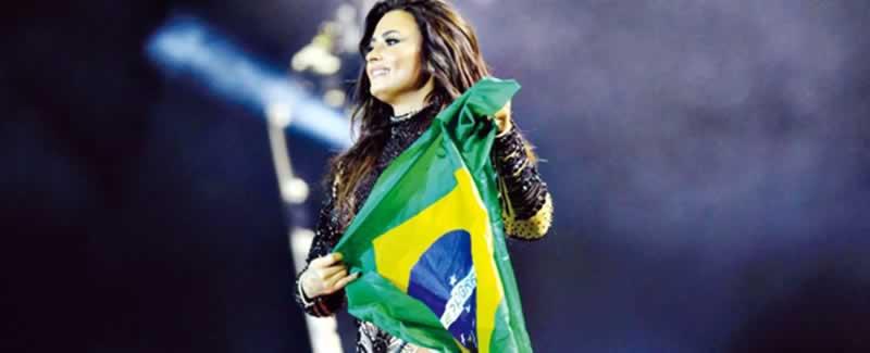 Turnê de Demi Lovato no Brasil