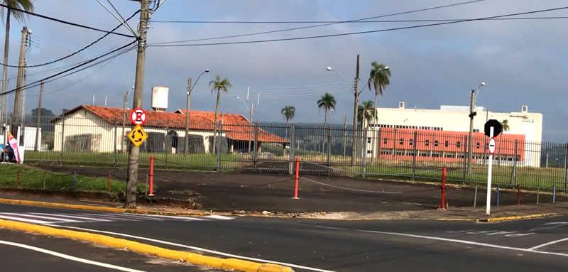 Espaço conhecido como JVC, localizado no entroncamento da Avenida José Pedretti Neto e a Rodovia Castelinho em Botucatu/SP